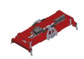 Гидравлический раздвижной твинлифт Y45ET-H