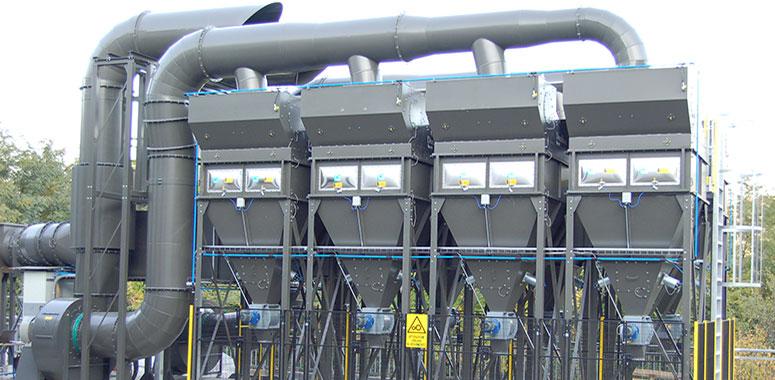 PowerCore® CPC с блок фильтрами PowerCore® и специальным длинным хоппером