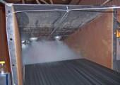 Пылеподавление для бункеров