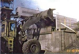 Хоппер после установки «сухого тумана» и ветрового барьера.