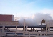 Пылеочистка на шахте