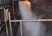Пылеподавление при выгрузке угля из вагонов и грузовиков