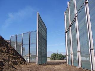Ветровой забор